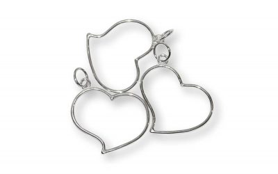 Shimmy Heart Pendant