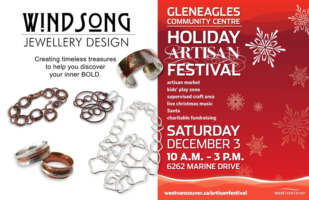 Gleneagles Artisan Festival 2016 Windsong Jewellery Design